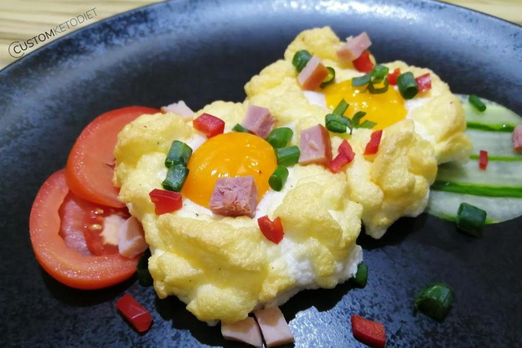 keto diet recipes - Cloud Eggs