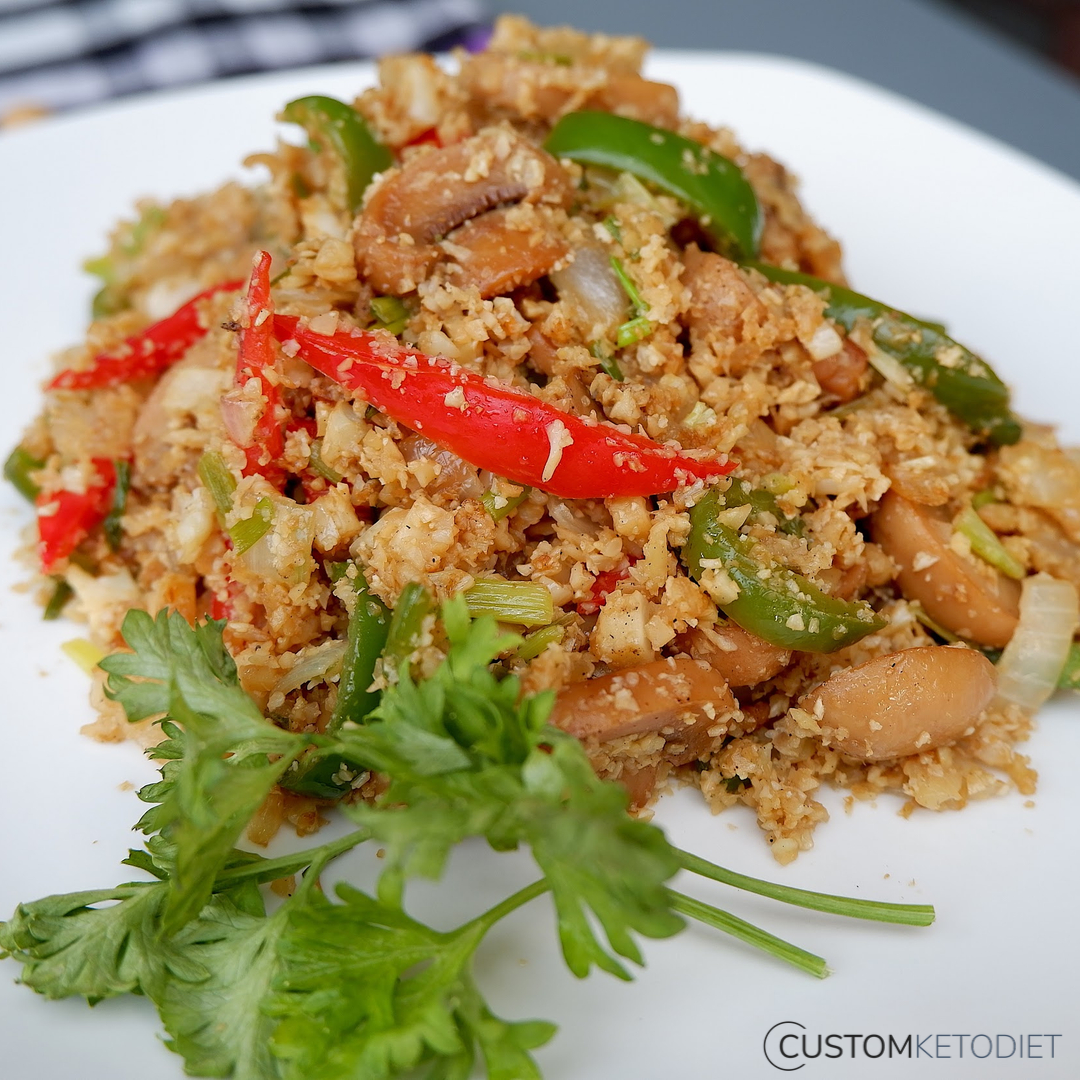 keto diet recipes - 2 Easy cauliflower rice
