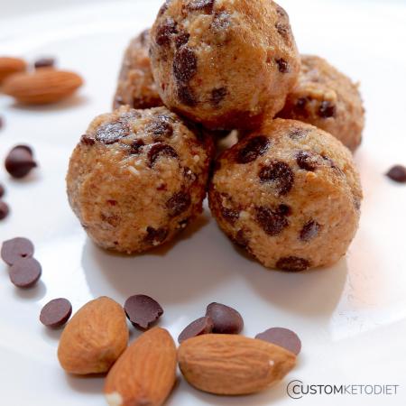 Keto Dessert Recipes: Almond Butter Energy Balls