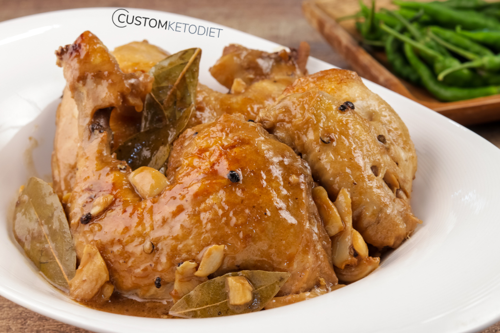 Easy Keto Recipes: Keto Creamy Chicken Adobo