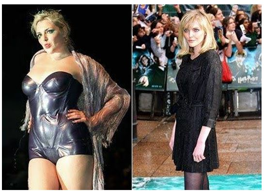 celebrities weight loss