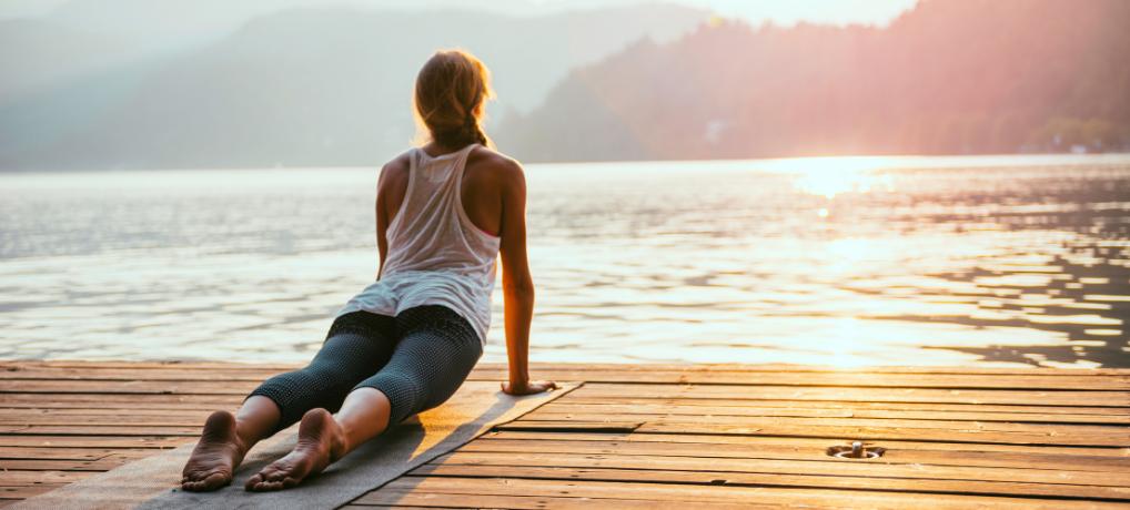yoga for weight loss - Sun Salutation